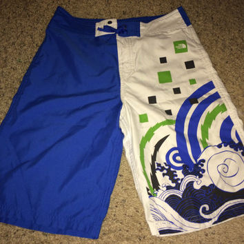 Sale!! Vintage THE NORTH FACE youth casual swimming activewear shorts