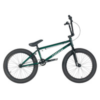 "United 2016 Supreme 20.25"" Trans Green Bmx Bike"