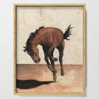 Wild horse Serving Tray by savousepate