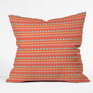 Allyson Johnson Native Aztec Throw Pillow