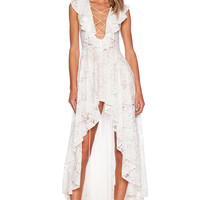 THE JETSET DIARIES x REVOLVE Secret Garden Dress in White