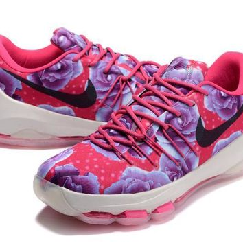 2017 Nike Zoom Kd 8 Kevin Durant Breast Cancer Men's Basketball Shoes - Beauty Ticks