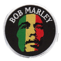 Bob Marley - Rastaface Patch on Sale for $3.99 at HippieShop.com