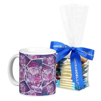 Pink Blue Tiger Classic White Coffee Mug