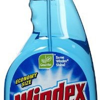 Johnson Wax 32 Oz Blue Trigger Spray Original Windex  80127