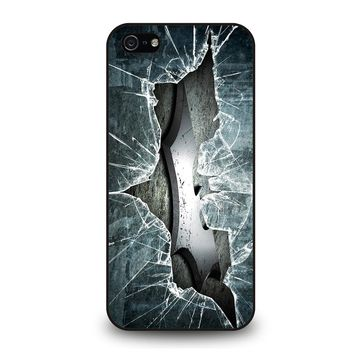 CRACKED OUT GLASS BATMAN THE DARK KNIGHT 2 iPhone 5 / 5S / SE Case