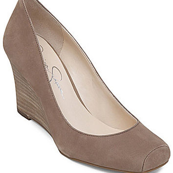 Jessica Simpson Salley Wedge Pumps