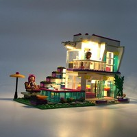 LED light kit (only light included) for lego 41135  Compatible with bela 10498 Friends  Livi's House Andrea mini-doll figures