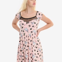 Her Universe Studio Ghibli Spirited Away Soot Sprite Pink Dress