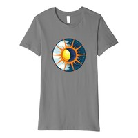 Spring Equinox 2018 Vernal Sun Moon Ray Premium T-Shirt