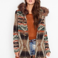 Bostwick Wool Toggle Coat - Camel - NASTY GAL