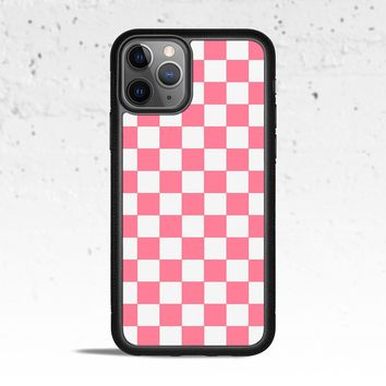 Checkerboard Strawberry Phone Case Cover for Apple iPhone Samsung Galaxy S & Note