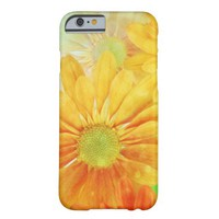 Yellow Flowers Barely There iPhone 6 Case