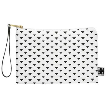 Allyson Johnson Upside Down Triangles Pouch