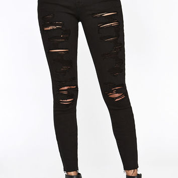 PacSun Low Rise Broadway Skinny Ankle Jeans at PacSun.com