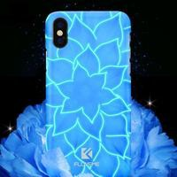 3D Luminous Luxury Lily Flower Luminous Light Case