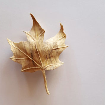 Wood Sculpture, Cascading Maple Leaf made of Spaulted Maple Wood, Father's Day, Wood Art, Wall Art, Graduation Gift, Leaves, Maple, Oak