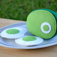 Green Eggs and Ham, Felt Food