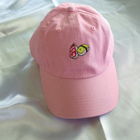 Embroidered Sushi Baseball Cap / Hat