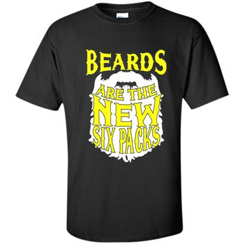 Funny Beards Are The New Six Packs T-shirt Fathers Day Gift