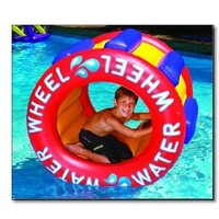 Amazon.com: The Inflatable Water Wheel Water Float Toy for Swimming Pool & Beach: Home Improvement