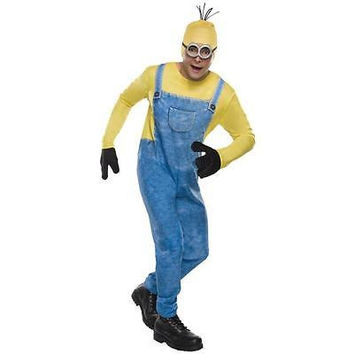 Rubie's Men's Minion Kevin Halloween Costume, Large 36-38, Blue/Yellow