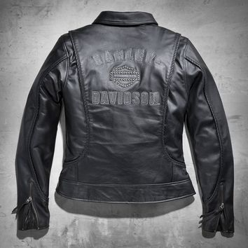 Women's Heritage Leather Jacket | Leather | Official Harley-Davidson Online Store