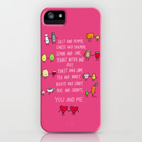You and Me iPhone Case by Dale Keys | Society6