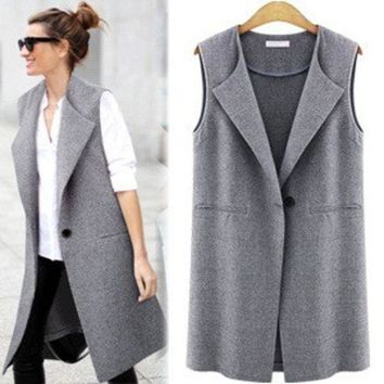 ac DCK83Q women coats vest summer plus size clothes [9927110540]