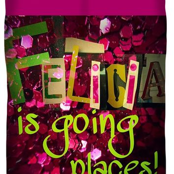 Felicia is Going Places Queen Duvet Cover
