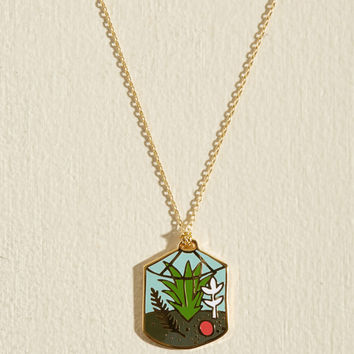 Plant Accordingly Necklace