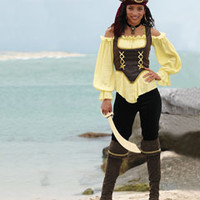 rustic pirate lady costume - Chasing Fireflies