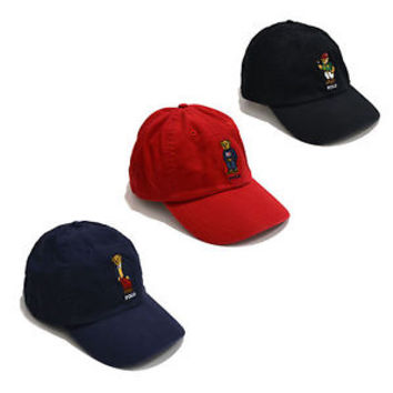 Polo Ralph Lauren Mens Bear Hat Ball Cap Baseball Limited Logo New