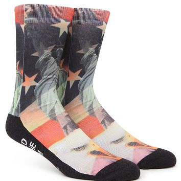 """New"" Socks American Awesome Crew Socks - Mens Socks - Multi - One"