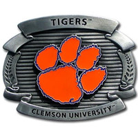 Clemson Tigers NCAA Oversized Belt Buckle