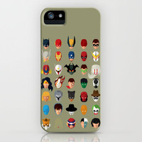 SuperHeroes iPhone Case by SPARKcreative | Society6