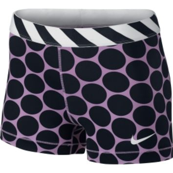 Nike Women's 3'' Pro Big Dot Printed Compression Shorts | DICK'S Sporting Goods