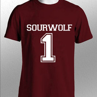 Beacon Hills Lacrosse Shirt SOURWOLF 24 Logo Black, White, Gray, Maroon Unisex t-Shirt Tee S,M,L,XL,XXL #1