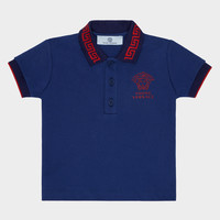 Young Versace Young Versace Piquet Polo Shirt for Boys | Official Website