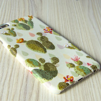 iPhone 6 case cactus iPhone 7 case cactus Samsung Galaxy S7 case floral galaxy S6 edge case Note 5 case İphone 6 Plus case LG G4 case floral