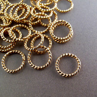 cartilage ring 14 kt GOLD FILLED hoop. earring. piercing. septum. brow. endless. catchless. 8mm 18g 18 gauge  ring goldfilled wire No.00E278