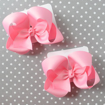 Custom color basic bows, Custom boutique hair bow, Custom hair bow for girls, Baby hair bow, Custom hairbow, Basic hairbow, Boutique bow