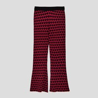 CROPPED JACQUARD TROUSERS DETAILS