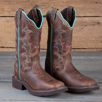 Justin Ladies' Tan Jaguar Gypsy Boots - Fashion - Boots - Women's