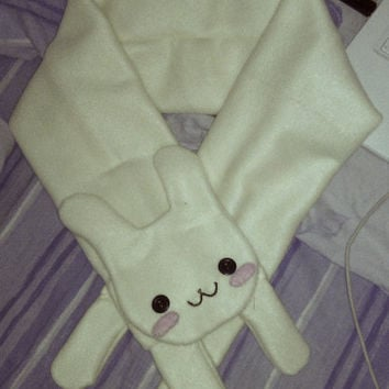 USAGI scarf/neckwarmer with bunny details kawaii