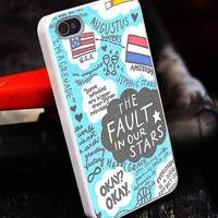 The Fault in Our Stars Quotes customized for iphone 4/4s/5/5s/5c, samsung galaxy s3/s4/s5 and ipod 4/5 case