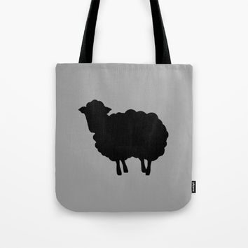 Black sheep BE YOURSELF Tote Bag by Xiari