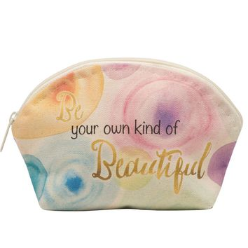 Be Your Own Kind of Beautiful Cosmetic Case