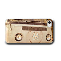 VW Bus, iPhone 5 4 4s Case, Volkswagon, Retro Photography, Cell Phone Case, Accessory for iPhone 5 4 4s