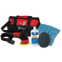 SHURHOLD DUAL ACTION POLISHER START KIT W/ POLISH PAD TOWEL